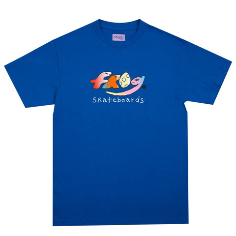 Dino Logo Tee Royal Blue