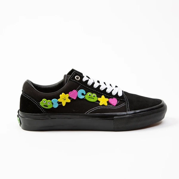 Skate Old Skool LTD Frog Black Black