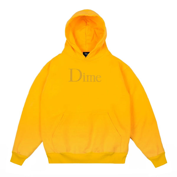 Dime Classic Hoodie Yellow