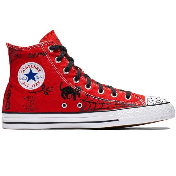 Sean Pablo CTAS Pro Hi Enamel Red Black White