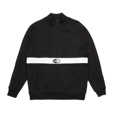 Kadam Mock Anorak Fleece Black