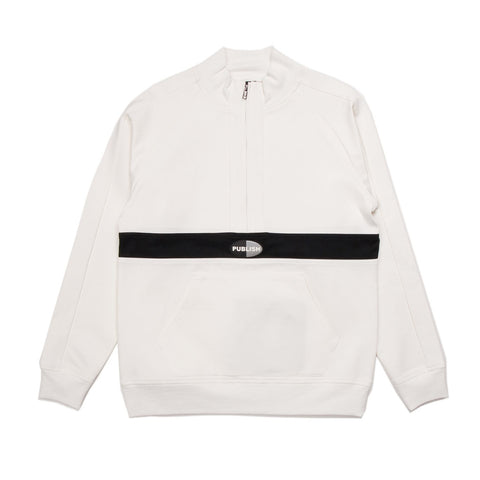 Kadam Mock Anorak Fleece White