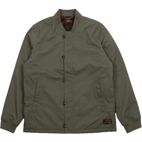 Skate Pile Jacket Olive Night