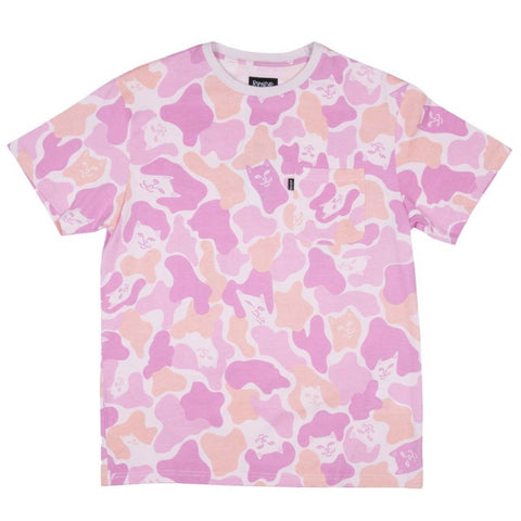 Invisible Camo Tee Pink