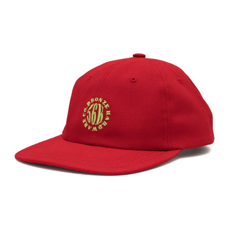 Bronze Movement Hat Red