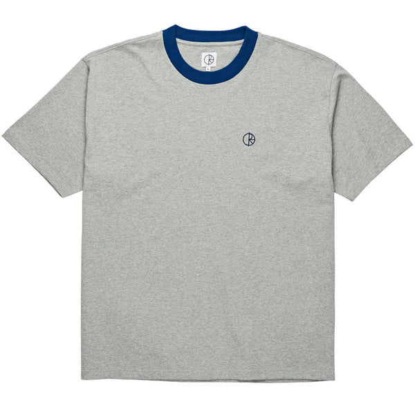 Ringer T-Shirt Heather Grey Navy