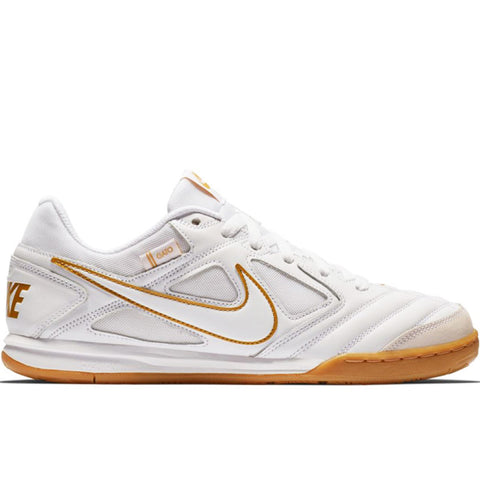SB Gato White White Metallic Gold