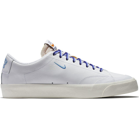 Zoom Blazer Low XT QS White University Blue Sail