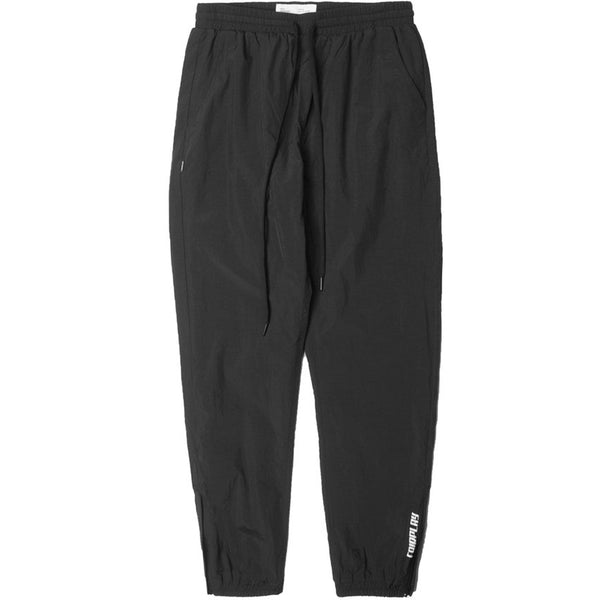 Nylon Runner Pant Black