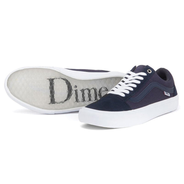 Old Skool Pro (Dime) Blue Nights White