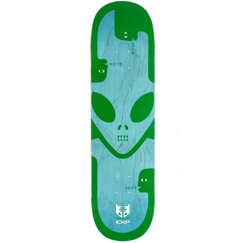 Alien Workshop Deck EXP Green