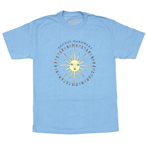 Peace Love and Hardware Tee Carolina Blue