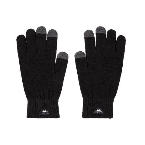 Nanga Gloves Black