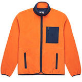 Strenstrom Fleece Jacket Orange Navy