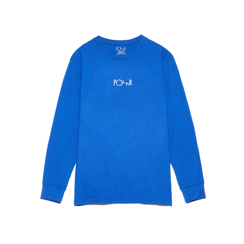 Beast Mode LS Tee 80's Blue