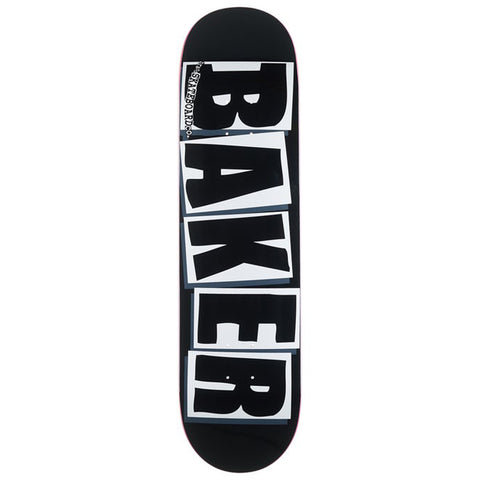Brand Logo Black White Deck