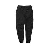 Shooter Distressed Jogger Black