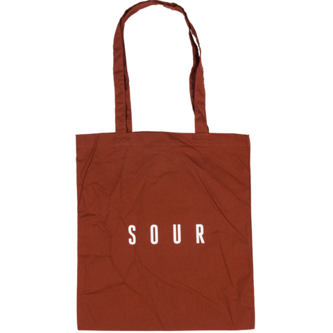Sour tote Bag Rust