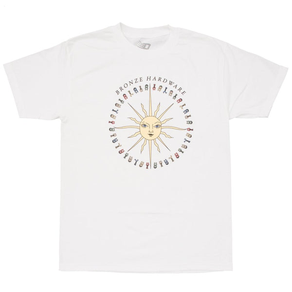 Peace Love and Hardware Tee White