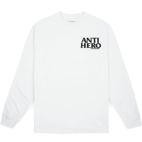 Lil Black Hero LS White Black