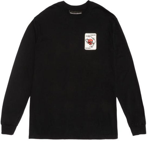 The Rock Longsleeve Black