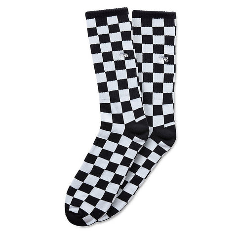 Checkerboard Crew Black White