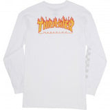 Checker x Thrasher LS White