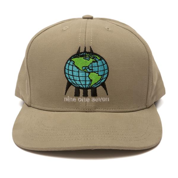 World One Seven Hat Grey