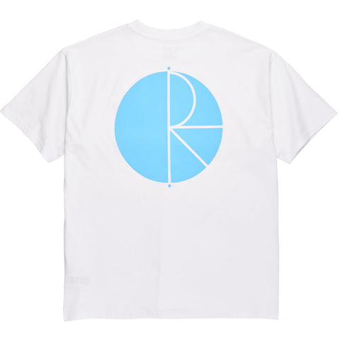 Fill Logo T-Shirt White Pool Blue