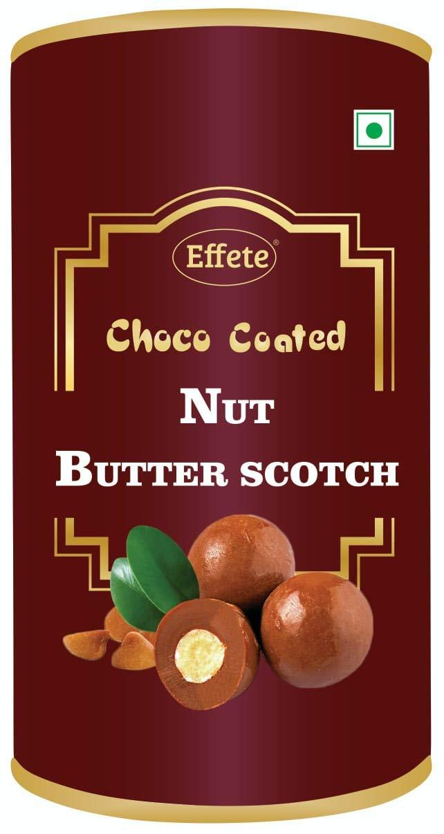 0044 Effete Choco Coated Nut Butter Scotch 96 gm