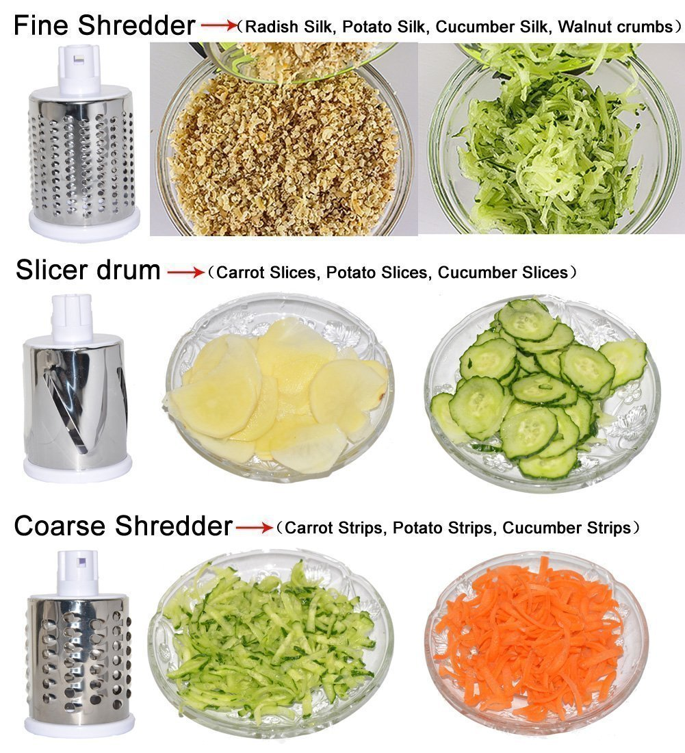 0068 -4 In 1 Vegetable Grater Mandoline Slicer