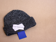 Load image into Gallery viewer, Black Reflective Beanie