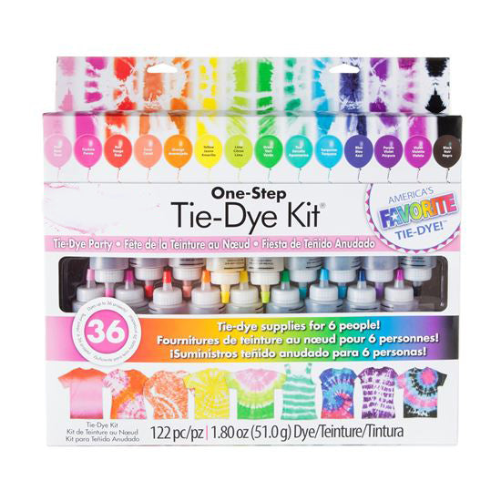 18 Color DIY Tie Dye Kit