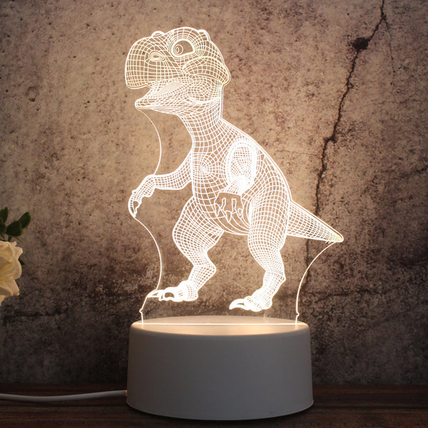 3D Dinosaur Kids LED Lamp