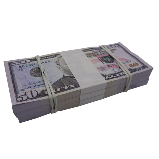 (15,000) 3 Stacks $50 Full Print Bundles