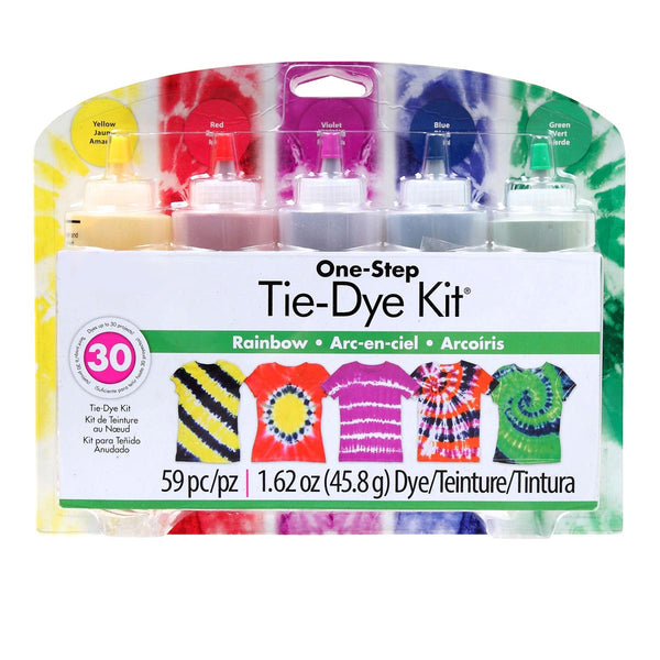 5 Color Tie Dye Kit