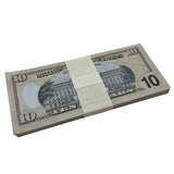 (1,000) 1 Stack $10 Full Print Bills