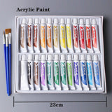 Professional Acrylic 24 Paints Set