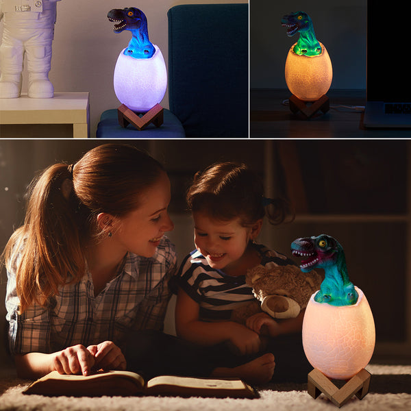 Vivid Dinosaur Baby Night Light