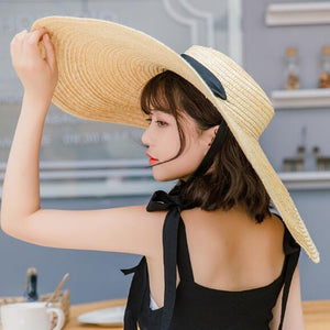 Load image into Gallery viewer, Natural Raffia Straw Hat