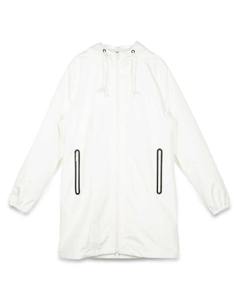 Load image into Gallery viewer, Konus Men's Water Repellent Hooded Jacket in White