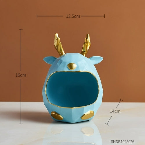 Load image into Gallery viewer, New Year Deer Decoration Ornaments Nordic Home Decoration Animal Model