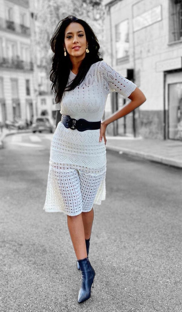 Chic and Elegant Knit Dress