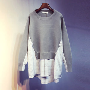Load image into Gallery viewer, Long Sleeve Jumper Knitted Loose Pullover