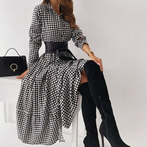 Load image into Gallery viewer, Checkered Sundress