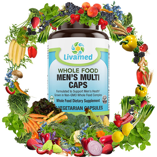"Livamed makes ""whole food nutrients"" Vitamins"