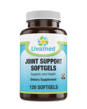 Load image into Gallery viewer, Livamed - Joint Support Softgels 120 Count - Livamed Vitamins