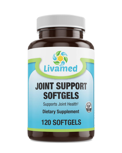 Livamed - Joint Support Softgels 120 Count - Livamed Vitamins