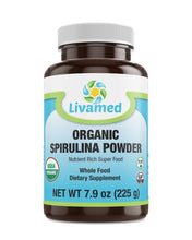 Load image into Gallery viewer, Livamed - Organic Spirulina Powder 7.9 oz Count