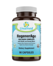Load image into Gallery viewer, Livamed - RegenerAge Collagen Complete Capsules - Livamed Vitamins